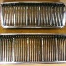 1973 Pontiac Luxury Lemans NOS grille pair P# 478708 09