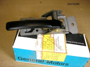 1975 76 77 78 791980 Pontiac NOS inside door handle RH