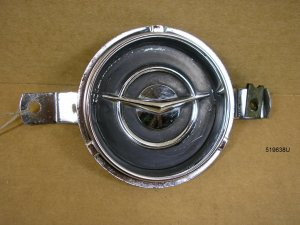 1955 Pontiac all instrumental clock cover