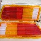 1975 78 Pontiac Sunbird NOS tail lamp lens pr