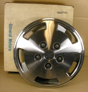 1984 86 Pontiac 6000 NOS Hubcap