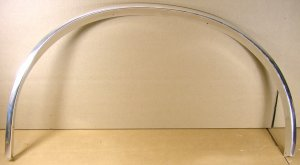 1982 86 Pontiac Tempest SW Rear wheel moulding NOS LH