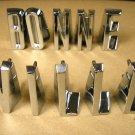 1958 Pontiac Bonnville hood letter set NEW