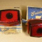1941 1947 Pontiac NOS glass Tail lamp lens pair