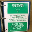 1988 89 90 91 92 93 Pontiac Lemans Service Manual