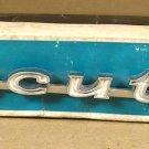 1970 Pontiac Executive NOS front fender emblem GM
