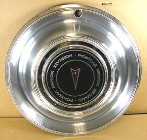 1976 Pontiac Bonne Cat Lemans Temp NOS hubcap set