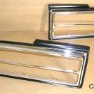 1970 73 Pontiac Firebird Tail Lamp Bezel pair New