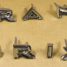 1964 Pontiac Grand Prix Deck Letter set New