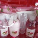 FLORA BLOSSOM CARNATION 6 PC TRAVEL BATH SET