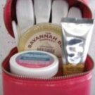 BATH & BODY WORKS TRUE BLUE HAND REPAIR AND PAMPERING 4 PC  KIT GIFT SET