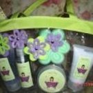 PRETTY GIRL SUGAR PLUM 5 PC BATH SET