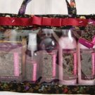 CHAMOMILE & BLACK TEA 5 PC TRAVEL BATH SET