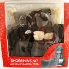 MEN'S PERSON 8 PC TRAVEL SHOESHINE KIT