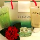 ESCADA WOMEN'S 3 PC MINI TRAVEL PERFUME BATH & BODY GIFT SET