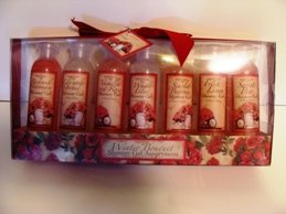 WINTER BOUQUET 7 PC SHOWER GELS ASSORTMENT SET