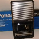 PANASONIC PORTABLE CASSETTE RECORDER W/ AC/DC OPERATION