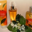 BATH & BODY WORKS MANGO MANDARIN 3 PC BATH SET