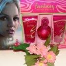 BRITNEY SPEARS FANTASY 3 PC 1 OZ FRAGRANT PERFUME & BODY GIFT SET
