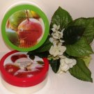 BATH & BODY WORKS 2 PC 7 OZ BODY BUTTER MIXERS TROPICAL PASSIONFRUIT & IRRESISTIBLE APPLE