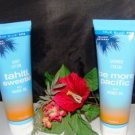 TRUE BLUE SPA 2 PC 8 OZ TRAVEL SET TAHITI SWEETIE BODY CREAM & PACIFIC SHOWER CREAM