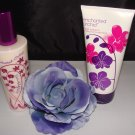 BATH & BODY WORKS 2 PC ENCHANTED ORCHID LOTION SET