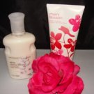 BATH & BODY WORKS 2 PC CHERRY BLOSSOM MIXED LOTION SET