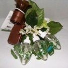 BATH & BODY WORKS 4 PC EUCALYPTUS SPEARMINT FRAGRANCE REFILL BULBS W/ NIGHT LIGHT WALLFLOWER UNIT