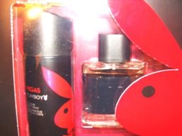 PLAYBOY VEGAS 2 PC MEN COLOGNE & BODY SET