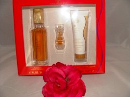 GIORGIO RED 3 PC WOMEN'S 1.7 OZ PERFUME & BODY GIFT SET