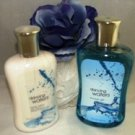 BATH & BODY WORKS DANCING WATERS 3 PC BATH SET