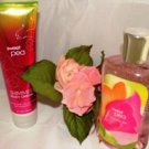 BATH & BODY WORKS SWEET PEA 2 PC TRAVEL BATH SET