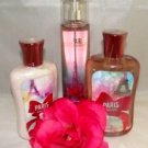 BATH & BODY WORKS PARIS AMOUR 3 PC BATH SET