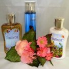 BATH & BODY WORKS COUNTRY CHIC 3 PC BATH SET