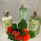 BATH & BODY WORKS CUCUMBER MELON 3 PC BATH SET