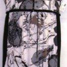 BALI WOMEN'S SLEEVELESS BLACK/WHITE BUBBLE PRINT DRESS SIZE  XXL 18