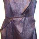 MARC NEW YORK WOMEN'S SILVER/GREY/BLACK SLEEVELESS DRESS SIZE, 8, 14