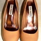 STEVE MADDEN WOMEN'S BLUSH PATENT SLIP ON DRESS HEELS SIZE 7m