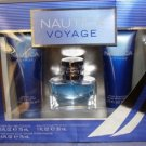 NAUTICA VOYAGE 3 PC MEN 1 OZ COLOGNE BATH & BODY GIFT SET