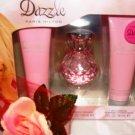 PARIS HILTON DAZZLE 3 PC WOMEN'S PERFUME & BODY GIFT SET