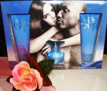 UNBREAKABLE LOVE 3 PC 1 OZ FRAGRANCE & BATH GIFT SET