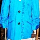 MUSE ANTHRACITE BLUE WOMEN'S BLAZER JACKET SZ 10