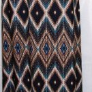 VERONICA M WOMEN'S MAXI WIDE WAIST MULTI-COLOR PRINT SKIRT SIZE SM, MED, L, XL