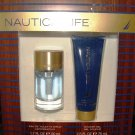 NAUTICA LIFE 2 PC 1.7 OZ MEN COLOGNE & BODY GIFT SET