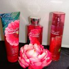 BATH & BODY WORKS MIDNIGHT POMEGRANTE 3 PC BATH SET