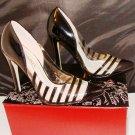 LILIANA OLGA 2 BLACK & LUCITE POINTED PUMPS SIZE 5.5, 6, 6.5, 7, 7.5, 8, 8.5,