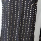 ALBERTO MAKALI CHARCOAL SLEEVELESS DRESS PLUS SIZE XL