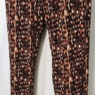 VERONICA M MULTI- BROWN PRINT JOGGER SIZES MED