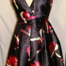 ARK & CO SLEEVELESS MULTI-FLORAL PRINT DRESS  SIZE S, M
