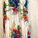 ARK & CO FULL LENGTH SPAGHETTI STRAP MULTI-FLORAL PRINT MAXI DRESS SIZE, LG